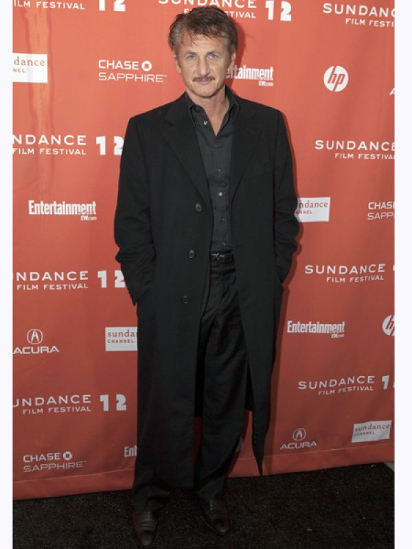 Sean Penn: Actor Sean Penn is a self-proclaimed atheist. He has said so in numerous interviews. He does not believe that there is a bearded man above the clouds controlling our fates.