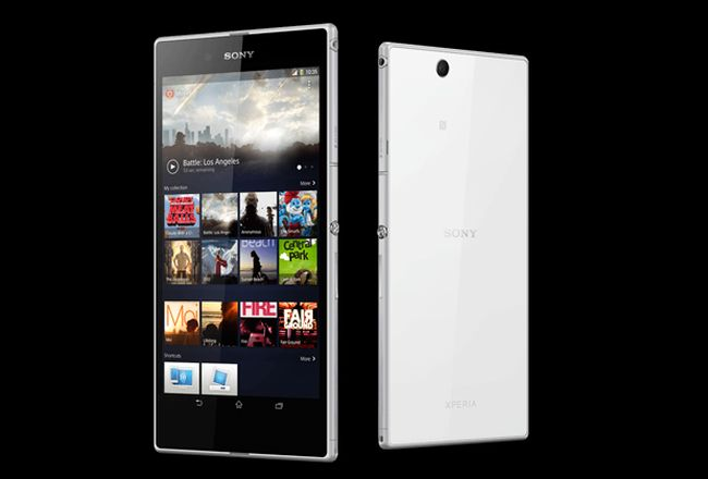 Sony Xperia Z Ultra comes with 16 GB internal memory. The memory can further be expanded to 64 GB using MicroSD card slot.