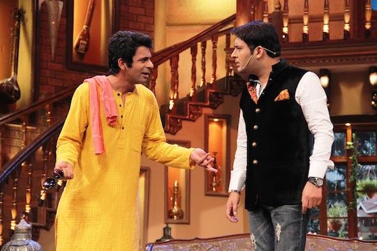 Sunil Grover and Kapil Sharma