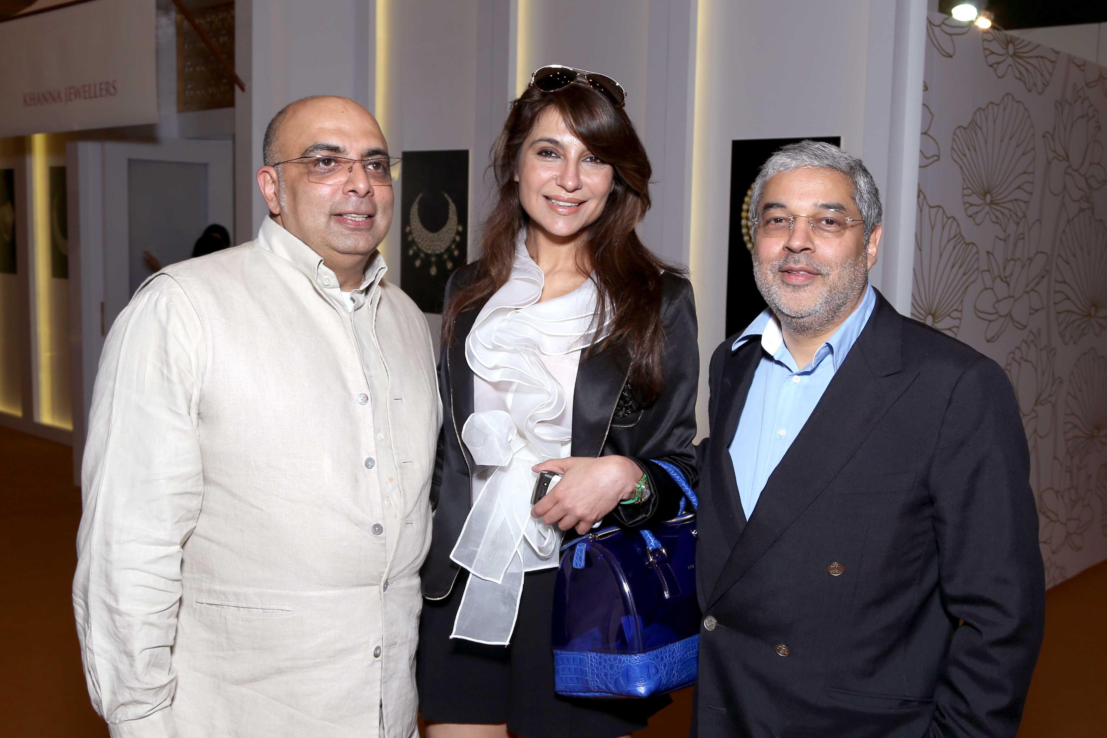 Tarun Tahiliani, Tanisha Mohan, Tikka Shatrujit Singh at the Vogue Wedding Show