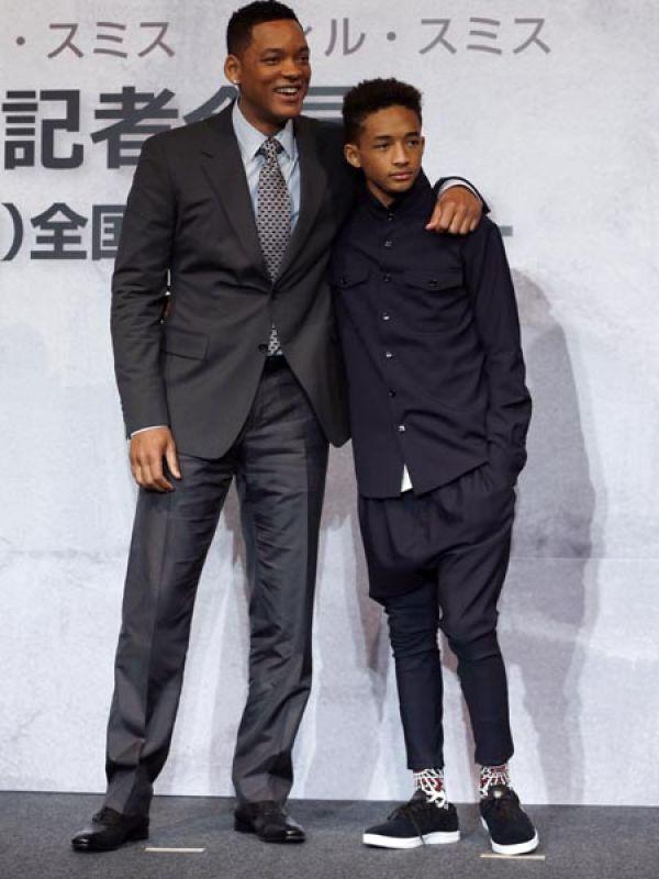 Will Smith and Jaden Smith
