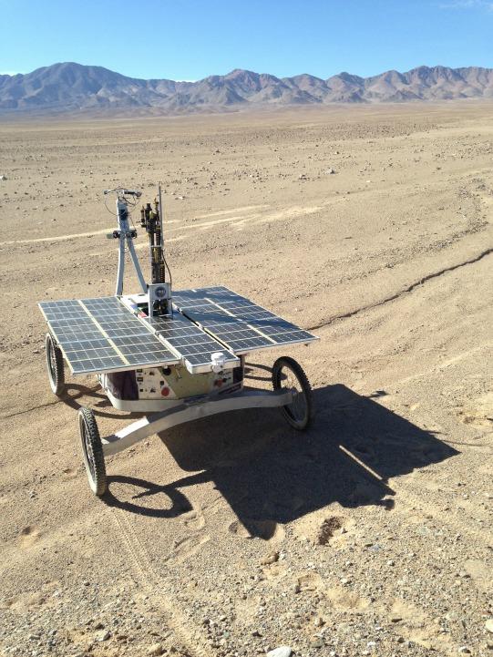 Nasa Tests Mars Rover Zoe