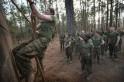 Female Marines Participate In Marine Combat Training At Camp LeJeune