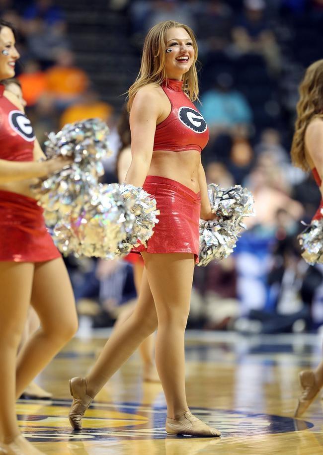 Cheerleaders around the World