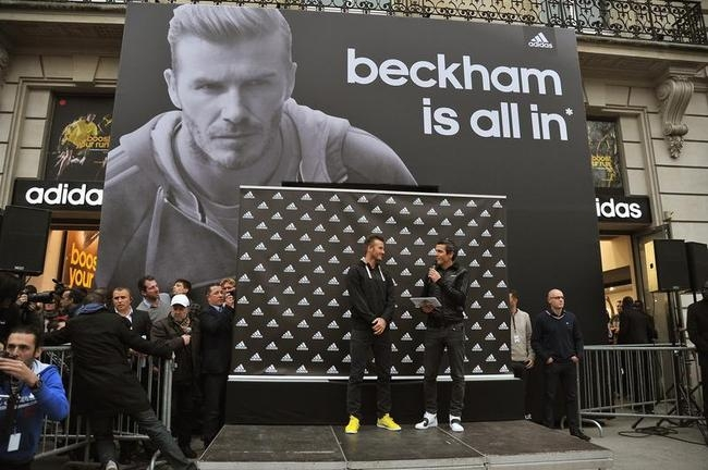 Paris Caught in David Beckham Mania