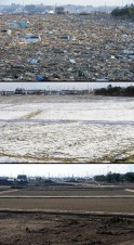 Tsunami's Destruction : Before & After Pics
