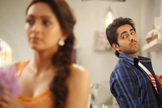 Pooja Salvi and Ayushmann Khurrana