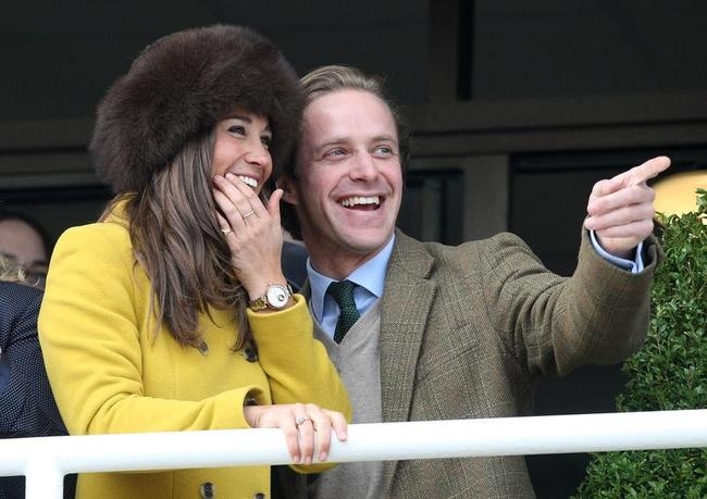 Celebrities at Cheltenham Race