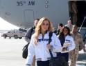 NFL Stars and Cheerleaders Entertain US Troops in Afghanistan