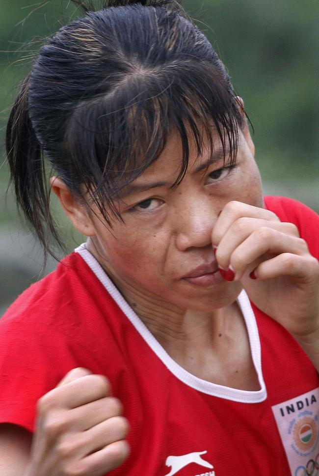 No. 8: Mary Kom-Olympic bronze-medallist boxer