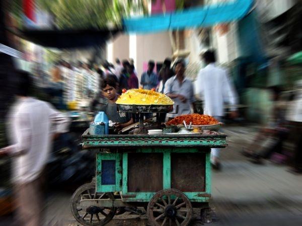 Healthy Fast Foods # 18: Bhel puri