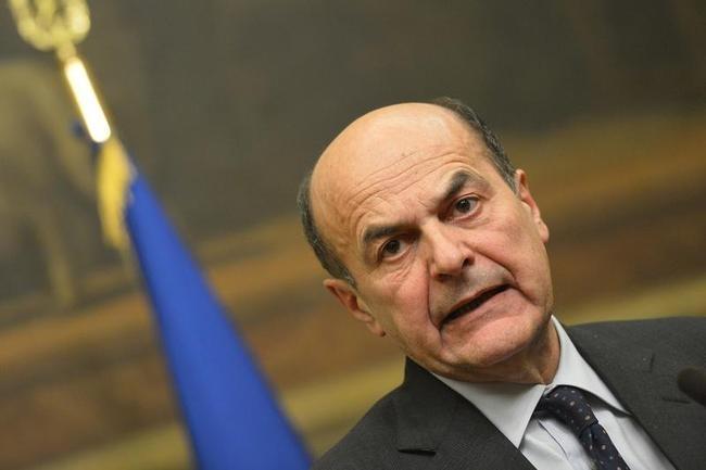 Leftist leader Pier Luigi Bersani
