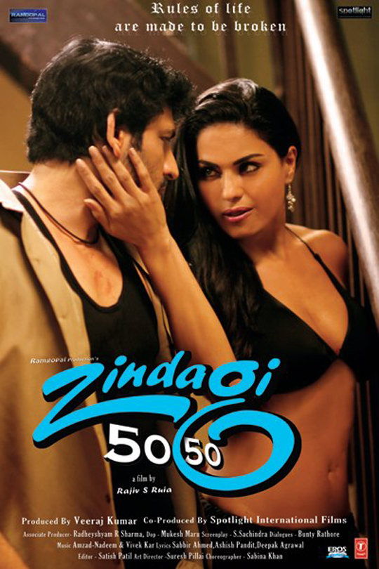 Rajan Verma and Veena Malik