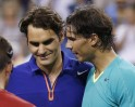 Rafael Nadal beats Roger Federer at Indian Wells