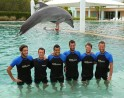 Tennis Stars' Day Out with Dolphins