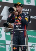 Sebastian Vettel wins Malaysian Grand Prix