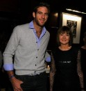 Tennis Stars at Cocktail Party