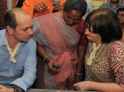 Cherie Blair in India