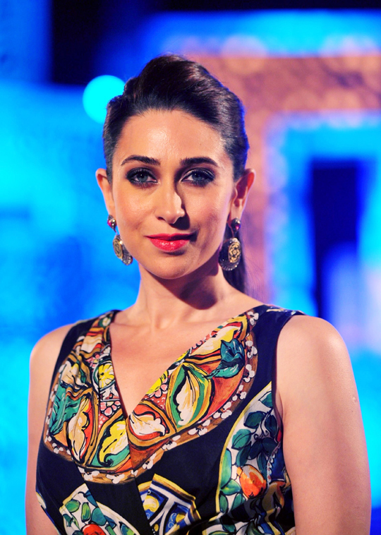 Judge on the Indian Princess and International Princess 2013 - Karisma Kapoor during the show, in Mumbai, on 8th March.
