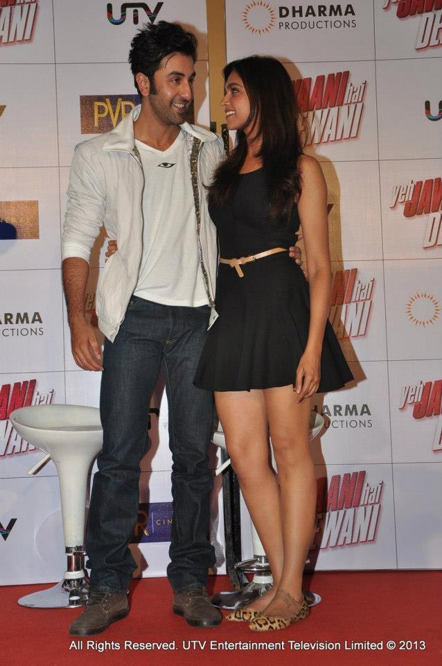 Ranbir Kapoor and Deepika Padukone  Courtesy: UTV