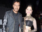 Ajay Devgn, Tamanna during the promotion of Himmatwala