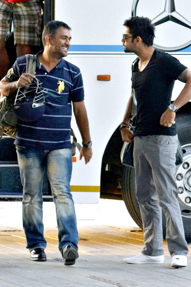 Mahendra Singh Dhoni and Virat Kohli
