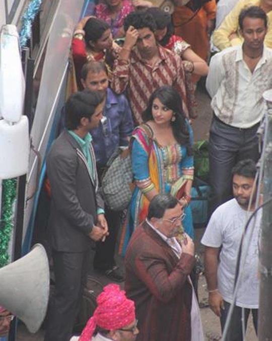 Sushant Singh Rajput, Parineeti Chopra and Rishi Kapoor