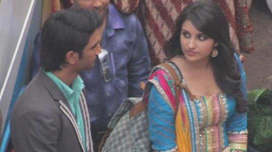 Sushant Singh Rajput and Parineeti Chopra