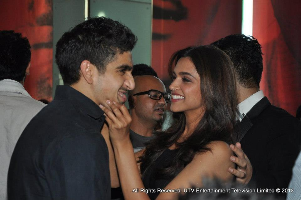 Ayan Mukerji and Deepika Padukone