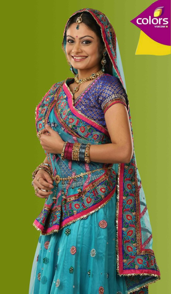 Toral Rasputra aka Anandi of Balika Vadhu
