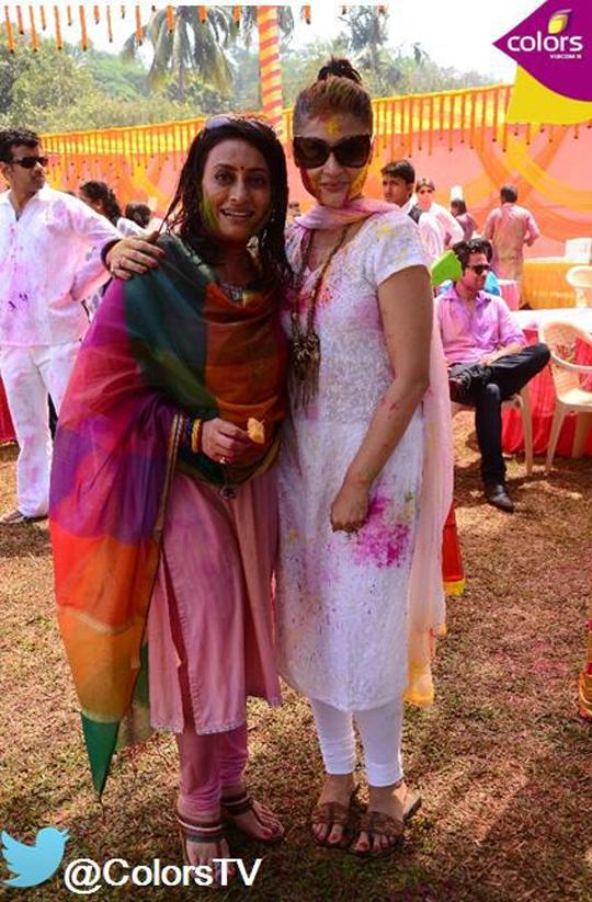 Navni Parihar with Urvashi Dholakia