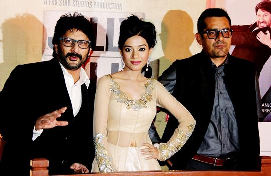 Arshad Warsi, Amrita Rao and Subhash Kapoor