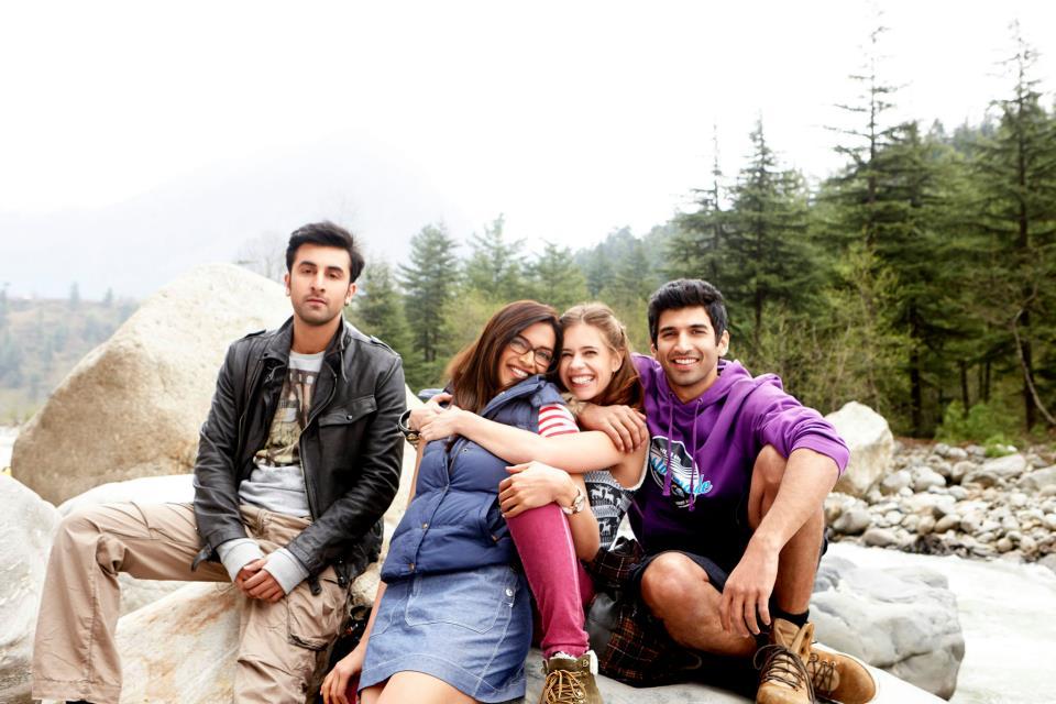 Ranbir Kapoor, Deepika Padukone, Kalki Koechlin and Aditya Roy Kapur