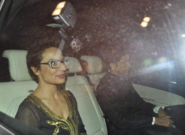 Adhuna and Farhan Akhtar