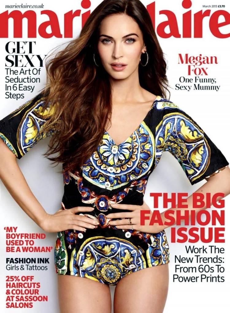 American actress Megan Fox