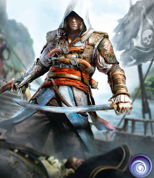 Hot on the heels of our review of Assassins Creed III, comes the reveal of Assassins Creed IV: Black Flag. Which is just a teaser Ubisoft has let out before the official reveal on March 4th. After the mixed reviews of Assassins Creed III, it's a wise decision to move on with the series.