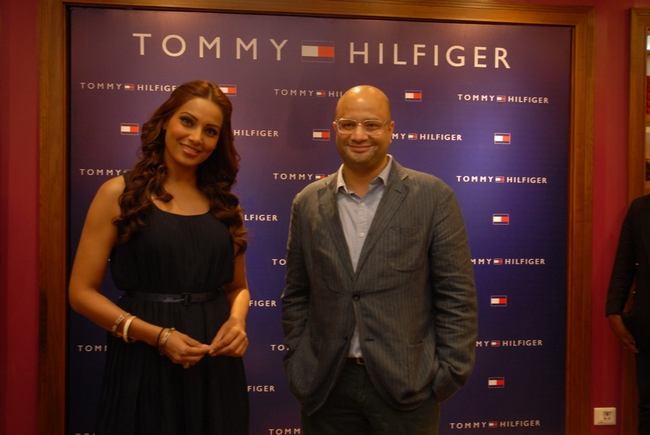 Actress Bipasha Basu launched the latest Tommy Hilfiger Summer Collection in Bangalore.