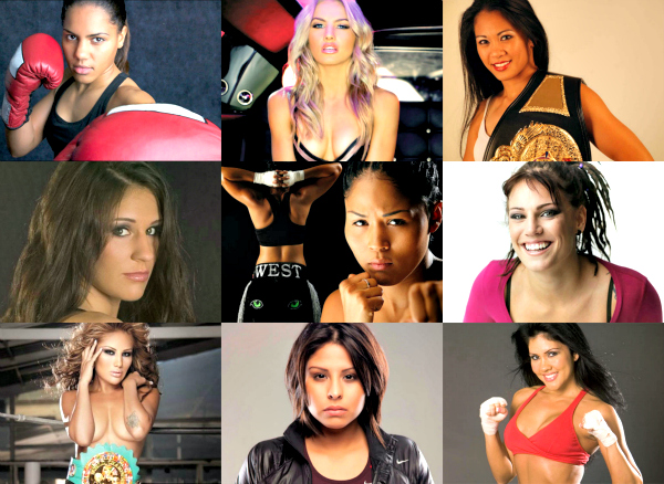 Brains and beauty has become quite common nowadays. A beauty who can brawl is the big bet now. These ten women could make a person drop dead with their looks as well as with a well-placed right hook.