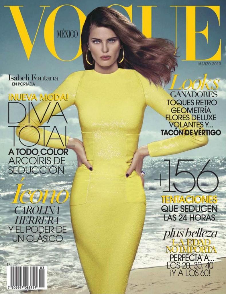 Brazilian model Isabeli Fontana