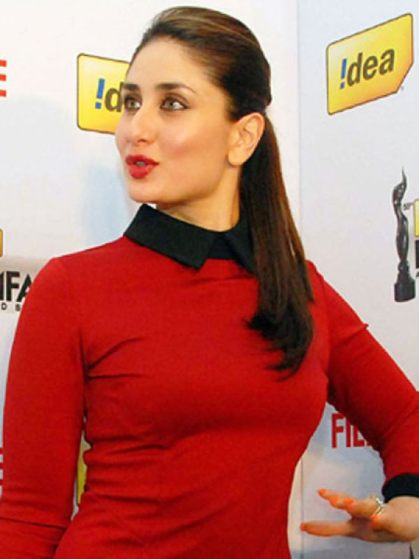 Kareena Kapoor: Fuss-free ponytails and summer go hand-in-hand. Wear a sleek yet simple ponytail with make up for a glam effect.