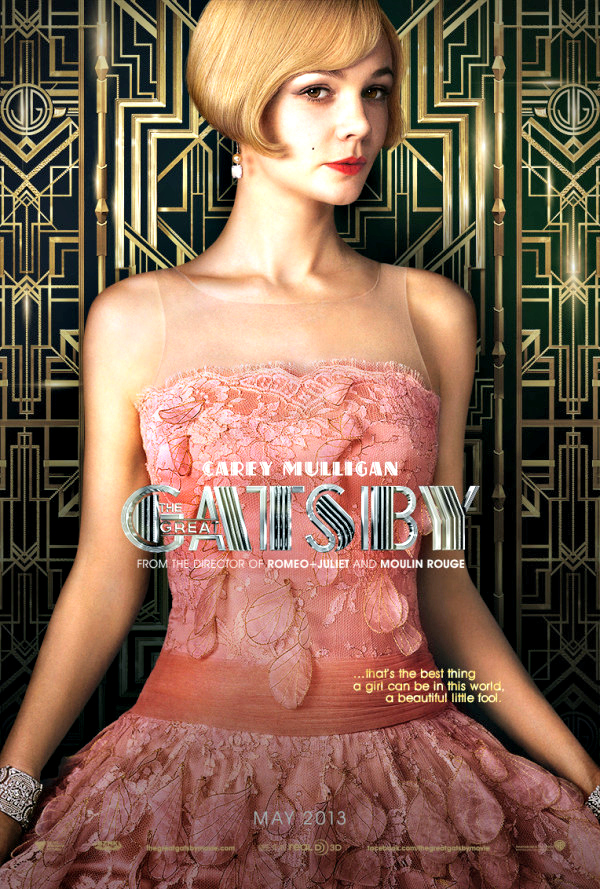 Carey Mulligan as Daisy Buchanan