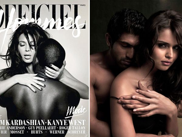 We always look forward to celebrity couple photoshoots. Hot and even daring, these photoshoots have often landed themselves in controversies because of their sleazy nature. So recently when parents-to-be Kim Kardashian and Kanye West presumably posed nude for a magazine cover, we were just taken aback. If you are already curious, take a look at these celebrity couple photoshoots and tell us whether you think they are sexy or just plain sleazy?