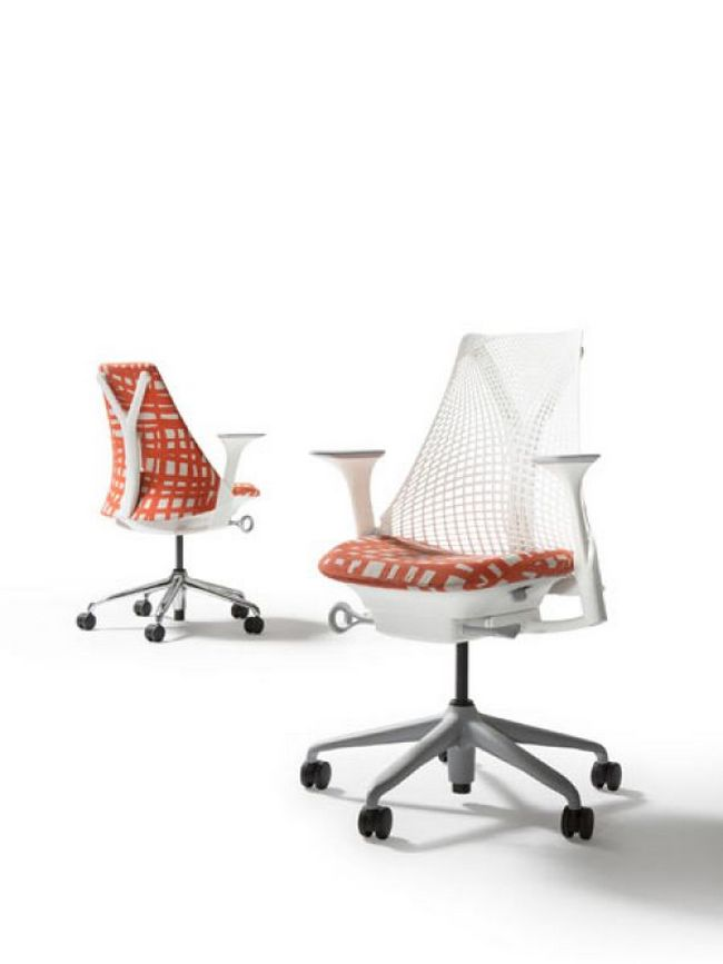 As part of its Unframed Art collection, Herman Miller has unveiled a version of its SAYL chair featuring the work of the late Australian artist Minnie Pwerle. The chair uses the Ritual fabric, which has been created by Woven Image in collaboration with the Dacou Aboriginal Gallery.