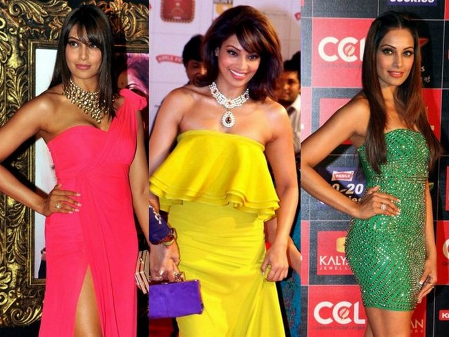 The sultry Bipasha Basu is making many public appearances to promote her upcoming film 'Aatma'. We aren't complaining as we are getting a sneak peek into the bong beauty's daring wardrobe. Take a look...
