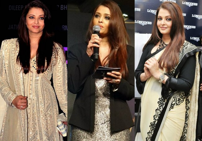 Aishwarya Rai Bachchan has silenced all her critics who criticised her for post-pregnancy weight gain. Here's Ash looking radiant as ever in her new 'yummy mummy' avatar...