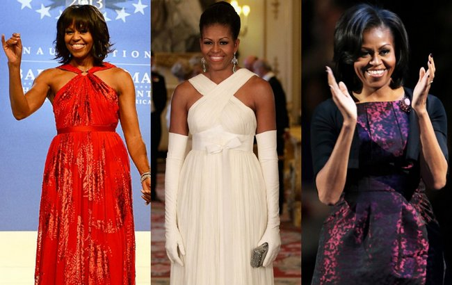 The First Lady of United States of America, Michelle Obama has topped the first Sunday Times best dressed list beating Queen Elizabeth and Victoria Beckham.  Her sartorial elegance teaches  us that fashion when kept subtle works the best. Here are some of her best dressed moments from which we can take a lesson or two...