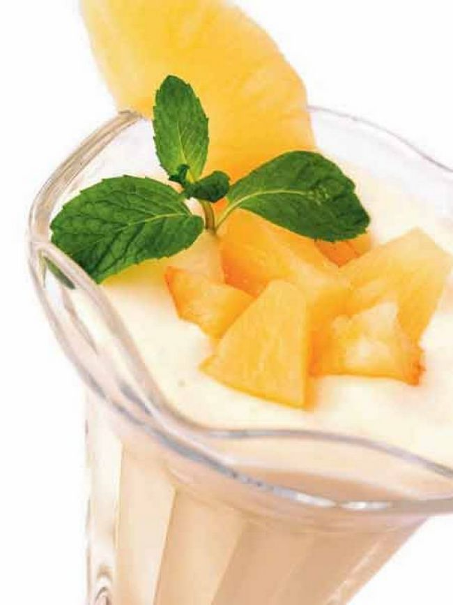 Pineapple Mint Drink