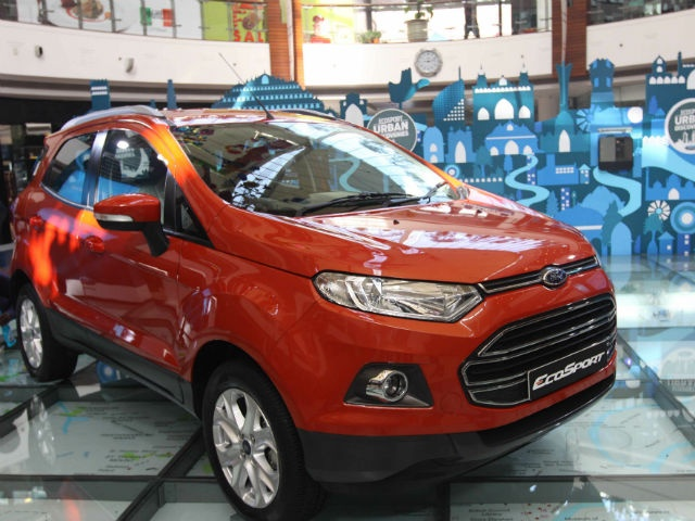 Ford today gave the first official public viewing of its production-ready, India-spec EcoSport at a Delhi mall while revealing more details of the much anticipated compact SUV