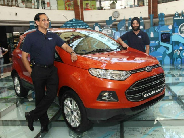 The EcoSport will be offered in four trims, eight colours and three engine options including the 1-litre EcoBoost turbocharged mill. Manual transmissions will be available in both petrol and diesel spec while the automatic gearbox will come only in the petrol variant