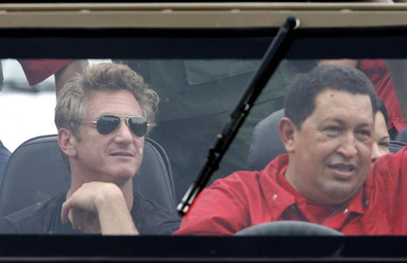 Sean Penn and Hugo Chavez